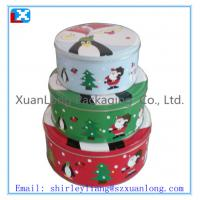Wholesale round shape cookie tin wholesale from china suppliers