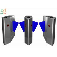 Wholesale IR Sensor Anti-static Flap Barrier Gate High Security Entrance Pedestrian System from china suppliers