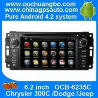 Wholesale Ouchuangbo Chrysler 300C /Dodge /Jeep navi radio with gps navigation dvd iPod android 4.2 from china suppliers
