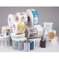 Wholesale Gloss Lamination Security Sticker Labels , Adhesive Printable Tamper Proof Labels from china suppliers