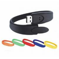 Buy cheap Durable Wristband Flash Drive Easy To Wear Nice Appearance For Promotion Gift from wholesalers
