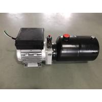 Wholesale AC380V 0.75KW motor 2.1cc/r gear pump with 6L steel tank Hydraulic Power Unit for Dock Leveler from china suppliers