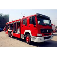 Wholesale 14m3 Water Tank Fire Fighting Trucks , Sinotruk Howo Fire Engine Truck from china suppliers