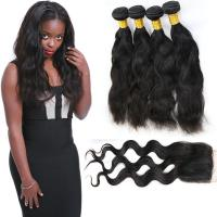 Wholesale 4 Bundles Of Malaysian Virgin Hair Extensions Clean Weft Natural Appearance from china suppliers