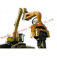 Buy cheap 360 Degrees Rotation Device Hydraulic Vibratory Hammer Machine For Construction from wholesalers