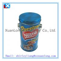 Wholesale Round christmas tin box from china suppliers