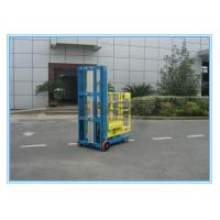 Wholesale One Person Aluminum Mobile Elevating Working Platform Mast Type For Supermarket from china suppliers