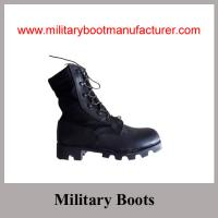 Wholesale Wholesale China Made Split Leather  Army Jungle DMS Boot with Panama Sole from china suppliers