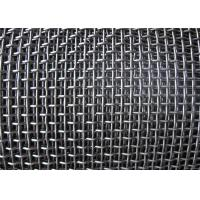Wholesale Smooth Hooked Galvanized Wire Mesh / Quarry Screen Mesh Low Carbon Steel from china suppliers