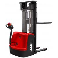 China Red Electric Pallet Stacker 1500KG Loading Capacity With AC Driving Motor System for sale