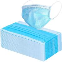 Wholesale 17.5*9.5cm Compact 3 Ply Surgical Mask , Disposable Pollution Mask For Personal Safety from china suppliers