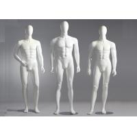 Quality Fiberglass Male Standing / Seating Full Body Mannequin For Clothes Shop for sale