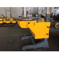 China Gear Tilt Pipe Welding Positioners 1200mm Table Diameter Rolling Speed Adjusted by VFD on sale