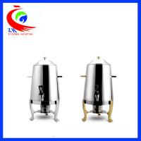 Stainless steel commercial coffee dispenser / tea coffee warmer for buffet