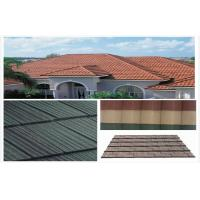 China Environmental Stone Coated Metal Roofing Tile , spanish architecture roof tiles on sale