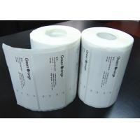 Wholesale Adhesive Blank Sticker Labels , Permanent Thermal Transfer Labels from china suppliers