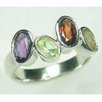 Wholesale Sterling Silver with Gemstone Ring from china suppliers