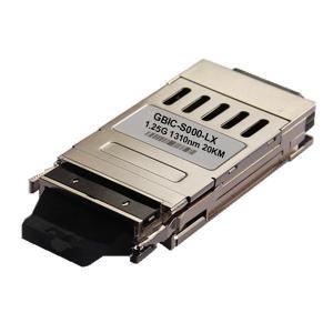 Buy cheap 1.25G 1310nm - 1560nm CWDM GBIC Transceiver Module 80km Single-Mode Gigabit from wholesalers
