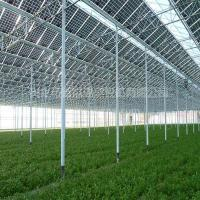 Wholesale Commercial Greenhouse Solar System Electric Power Galvanized Surface Treatment from china suppliers