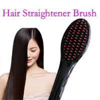 Wholesale Hair Brush Styling Tools Hair Straightener Comb Hair Straightening Iron Comb  Hair Tools Straighten Hair Soft Iron from china suppliers