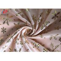 Wholesale Super Soft Polyester Velvet Fabric Bronzing Printed Velboa Fabric For Upholstery from china suppliers