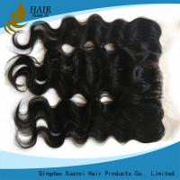 China Durable Human Hair Closure Pieces , Soft Brazilian Lace Frontal Closure on sale