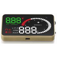 Ouchuangbo 3 inch car radio gps nav head up display screen and high-definition
