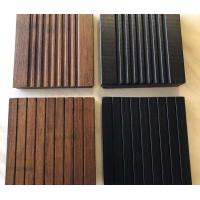 Wholesale Interlock Natural Bamboo Flooring , Timber Wood Flooring 21 Mm For Bathroom from china suppliers