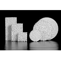 Buy cheap Alumina Ceramic Foam Filter Casting Filtration 90 - 100% Adsorption Rate from wholesalers