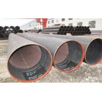 Wholesale Hydraulic Fluid Round ERW Welded Tube , SCH X52 Welded Steel Pipe 6.35 ~ 50mm from china suppliers