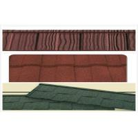 Wholesale Classic / wave Aluminum Stone Chip Coated Steel Roof Tiles / roofing panel from china suppliers