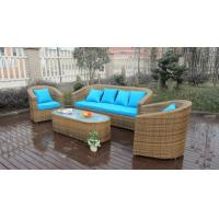 Wholesale 5pcs outdoor wicker garden rattan sofa set high-end quality rattan sofa from china suppliers