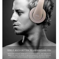 Wholesale Bluetooth Headphones, Portable Stereo Wireless Headset with Mic Over-Ear Noise Isolation Earphones Support TF Card for P from china suppliers