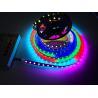 Surface Epoxy Plated Led Ribbon Tape Light , Fastest 107S Digital Addressable Led Chip for sale