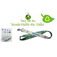 Wholesale Sublimation Printed Eco Friendly Lanyards With Metal Hook / Plastic Buckle from china suppliers