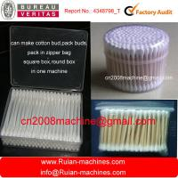 Wholesale Full Automatic Cotton BUD Making Machine with Drying & Packing (plastic/Bamboo and Wood St from china suppliers