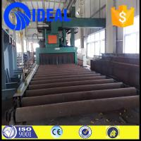 Wholesale new steel plate pretreatment line for removing rust and decontamination from china suppliers