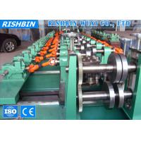 China Hot Rolled Coils C Z Section Steel Purlin Roll Forming Machine 45 ﹟ Steel Shaft on sale