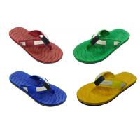 Buy cheap China Slippers PU&Textile Men Slippers TPR Flip Flop (9584) from wholesalers