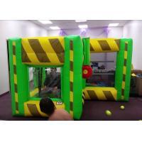 Wholesale Indoor Outdoor Inflatable Interactive Games / Inflatable Dunk Tank System For Kids from china suppliers