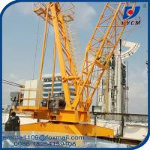 China QD100 Construction Derrick Crane 10 Tons Capacity With Inverter / VFD Control for sale