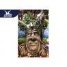 Sunproof Realistic Handmade Talking Tree  Amusement Park Decoration for sale
