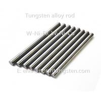 Quality Tungsten nickle alloy dart billet, blank rod, blank bar, tungsten cylinder, grinding bar, polish rod for sale