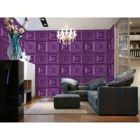 Wholesale Custom Decorative Wall Decals Eco Friendly Wallpaper 3D Wall Panel for Home Decor from china suppliers