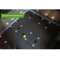 Quality DIY balcony WPC decks Tile With Led light for sale