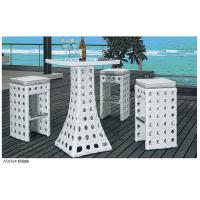 Wholesale 2014 popular rattan bar table and bar chair set from china suppliers