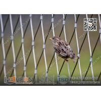 Wholesale 316L Stainless Steel Wire Cable Bird Cage for Zoo Enclosure | China Zoo Mesh Factory from china suppliers