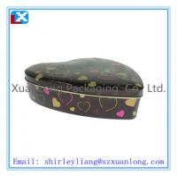 Wholesale Heart shape chocolate tin box packaging from china suppliers