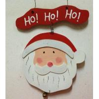Wholesale Santa Claus hanging tag 200mm Christmas wood gift tag from china suppliers