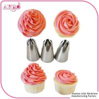 Quality FDA LFGB certificated 2017 New 304 Stainless Steel Icing Piping Cake Decorating for sale
